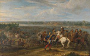 Lodewijk XIV trekt over de Rijn