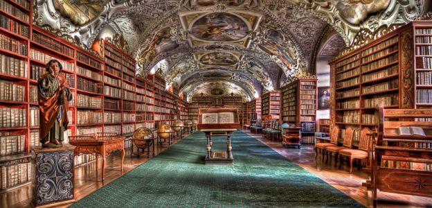 bibliotheek Praag
