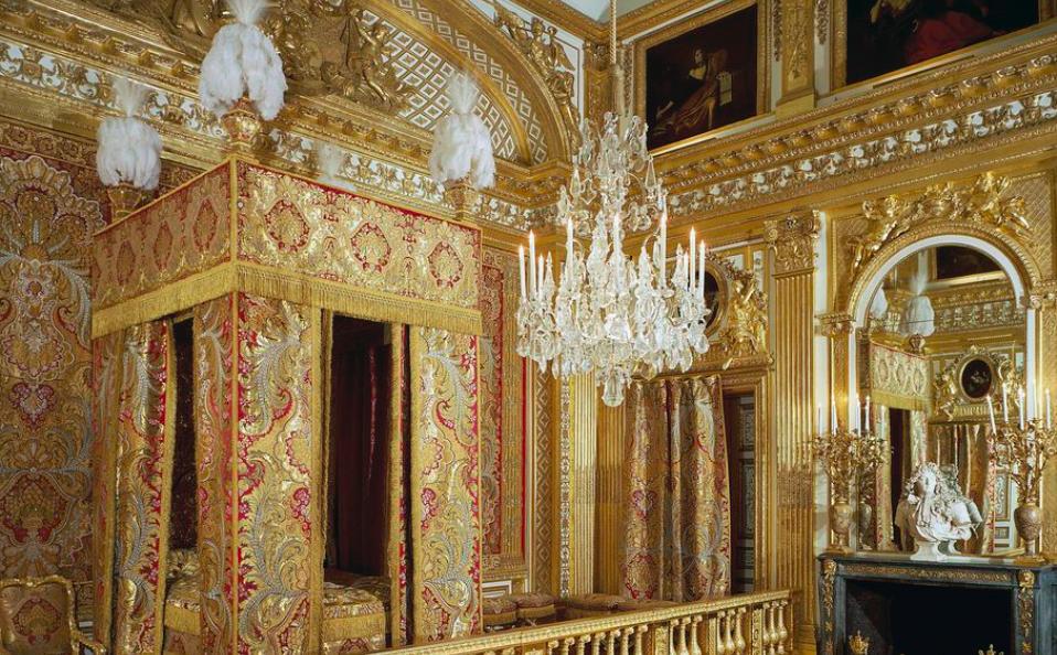 Chambre du roi Lodewijk XIV